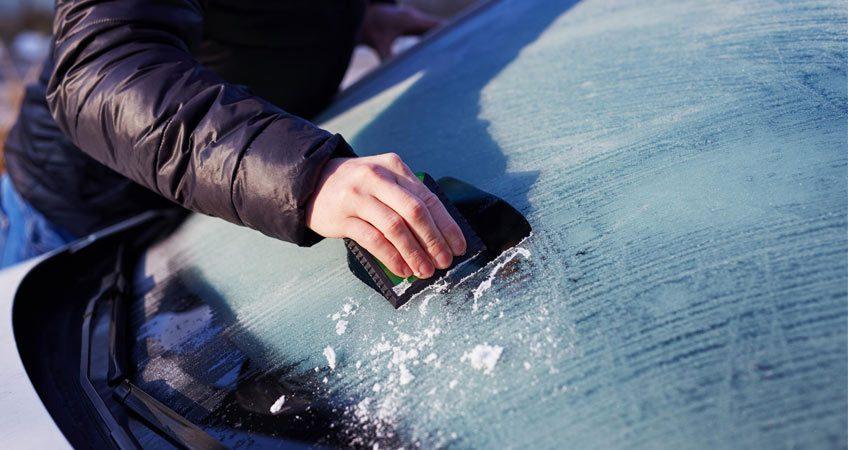 cuidar parabrisas invierno